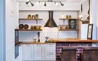 Кухня в хрущевке варианты дизайна