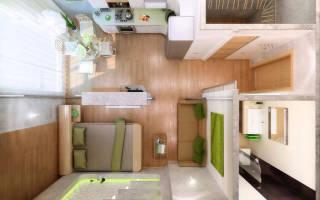 Дизайн квартир московской планировки