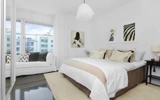 Дизайн маленькой спальни в светлых тонах