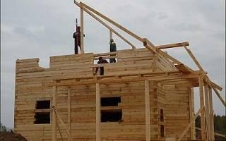 Как сделать стропила на крышу?