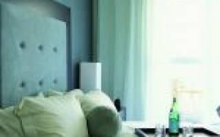 Дизайн бирюзовой спальни