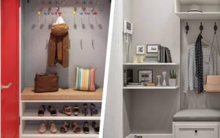 Дизайн прихожей без шкафов