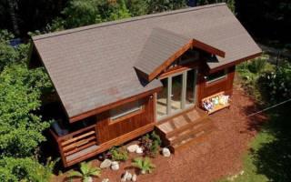 Чем покрыть крышу на даче?