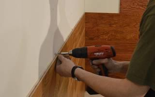 Как правильно установить пластиковые панели на стены