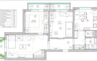 Дизайн квартиры 75 кв м