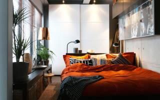 Вытянутая спальня дизайн