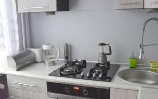 Кухня в малогабаритной квартире дизайн