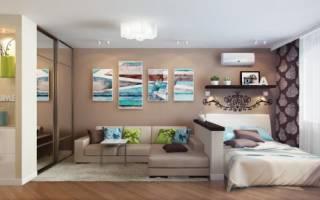 Дизайн совмещенной спальни
