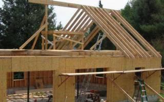 Как вычислить длину стропил двухскатной крыши