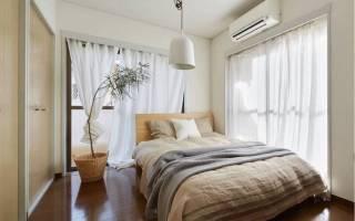 Дизайн спальни 16 кв м квадратная