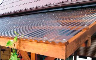 Прозрачная крыша для террасы