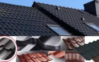 Какая металлочерепица лучше для крыши – метал черепица