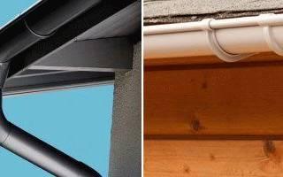 Водосточная система металлическая монтаж: желоба для крыши