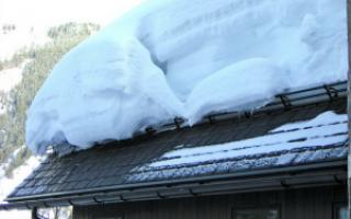 Снегозадержатель для профнастила: снегоуловители на крышу