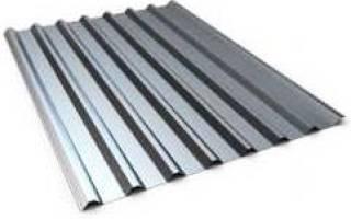 Железо для кровли крыши цены: размеры оцинкованного листа