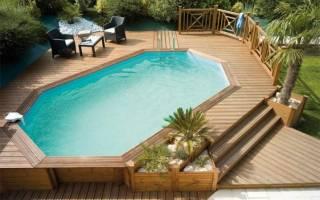 Выбор дачных бассейнов от компании ВашБас