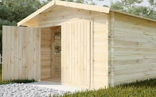 Как сделать деревянные ворота?