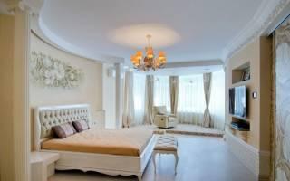 Дизайн интерьера спальни в доме фото