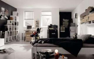 Дизайн интерьера спальни подростка