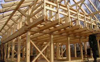 Устройство перекрытия в каркасном доме: элементы строительства