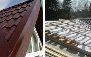 Как правильно сделать ендову на крыше – как стыкуется металлочерепица?
