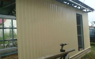 Обшивка дома металлопрофилем с утеплителем – обшить дом профнастилом фото
