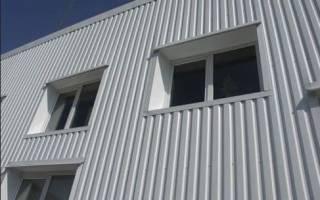 Фасад дома из профлиста фото – фасадный металлопрофиль