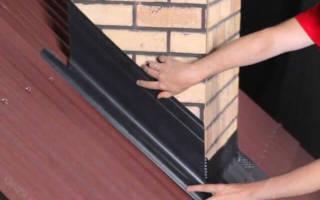 Как обойти трубу на крыше профнастилом