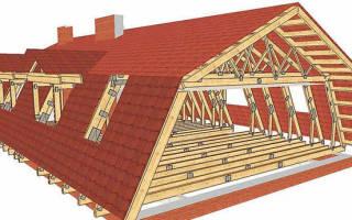 Мансардные крыши частных домов технология возведения