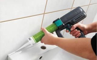 Пистолет для герметика как пользоваться