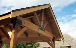Как сделать крышу для беседки?