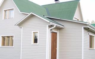 Какой цвет сайдинга подходит к зеленой крыше?