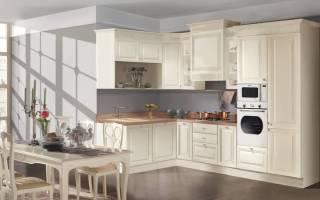 Кухня в пастельных тонах интерьер