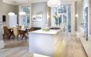 Кухня в серо белом цвете дизайн
