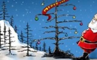 Дизайн открыток на новый год