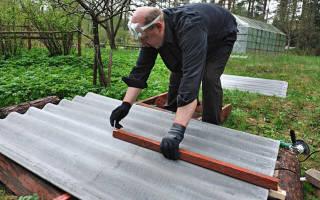 Чем резать плоский шифер в домашних условиях?
