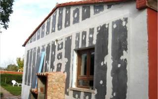 Шпаклевка цементная фасадная, шпатлевки фасадные
