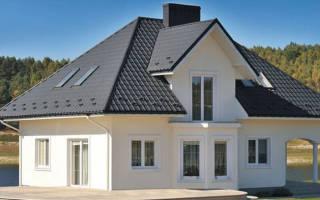 Сочетание цвета крыши и фасада дома фото, цвет кровли
