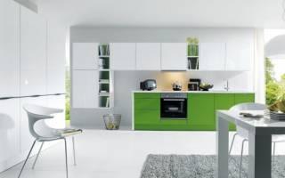 Сочетание зеленого в интерьере гостиной