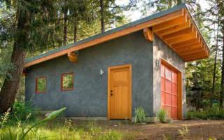 Как сделать односкатную крышу на гараже?