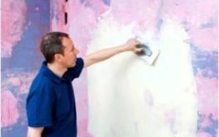 Можно ли клеить обои на покрашенные стены