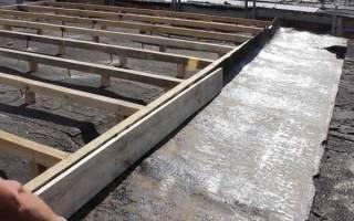 Как сделать крышу на гараж?