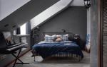 Дизайн комнаты серый цвет
