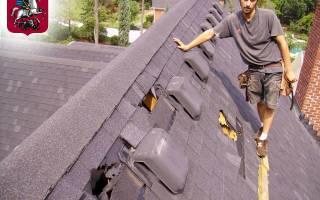 Замена крыши на старом доме цена: демонтаж металлочерепицы