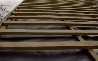 Доска для обрешетки крыши размеры