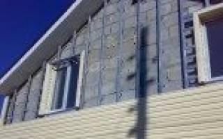 Крепление профиля к стене под сайдинг: как крепится?
