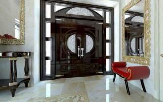 Дизайн маленькой прихожей в частном доме