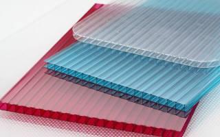 Размер листа поликарбоната для теплиц: карбонат сотовый