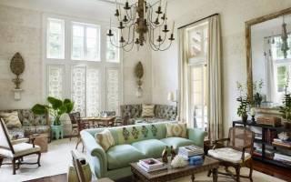 Дизайн прованс в деревянном доме