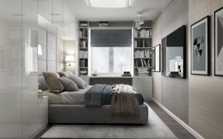 Дизайн маленькой спальни хрущевка